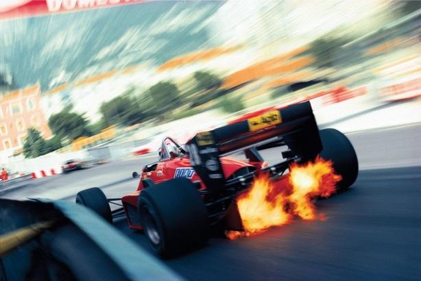Johansson Ferrari Monaco 1985