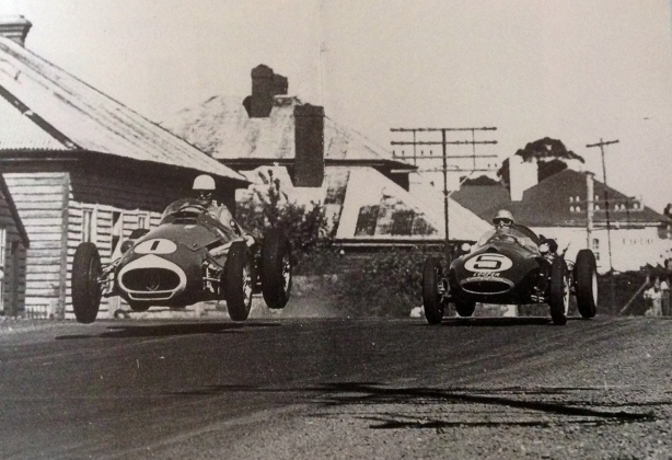 Jones jumping at Longford 1959
