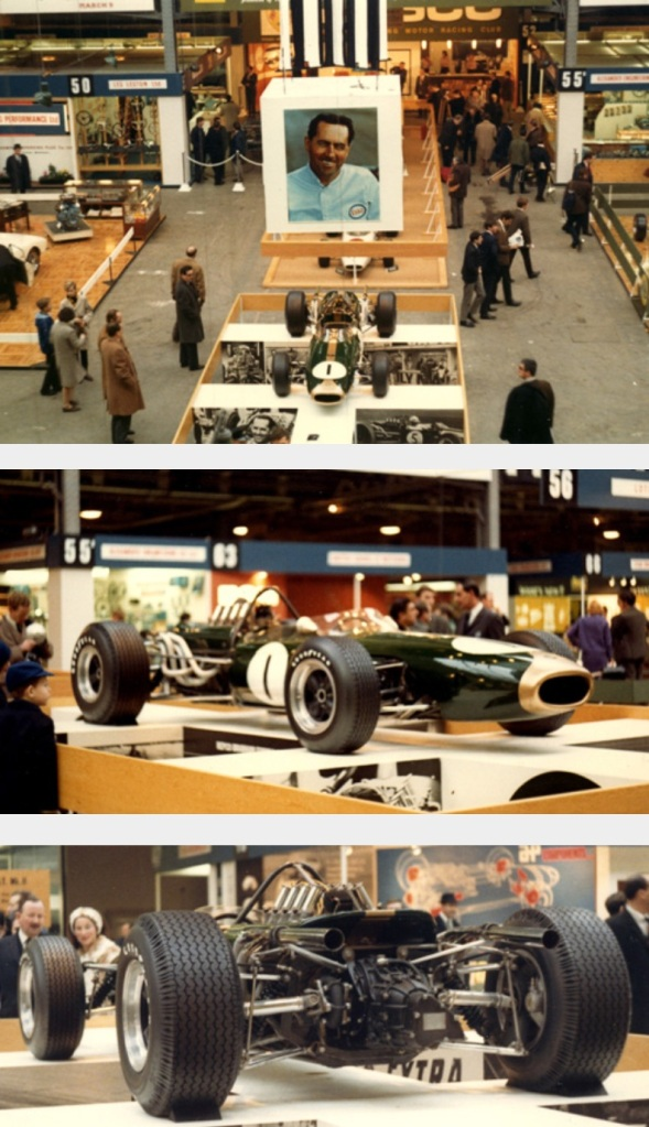 london Racing Car Show 1967