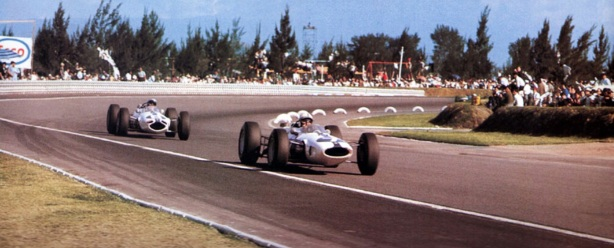 Mexico 1964, Surtees and Bandini