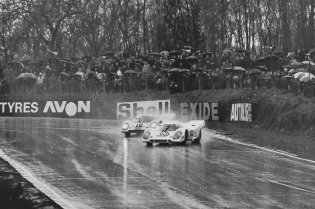 Rodriguez , Porsche 917, Brands 1000Km 1970
