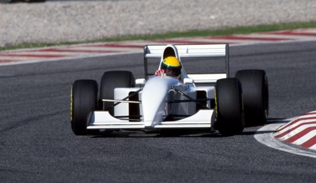 Senna Mc Laren lambo