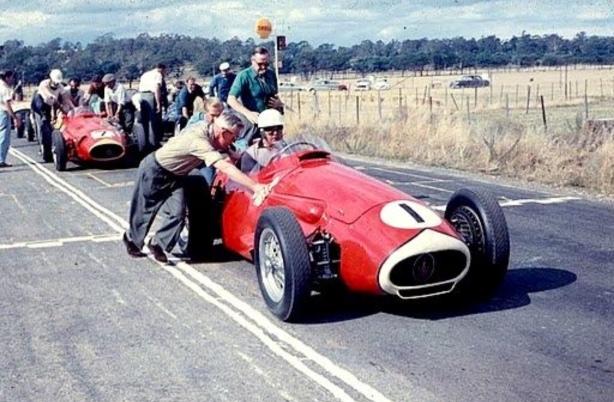 Stan Jones AGP Longford 1959