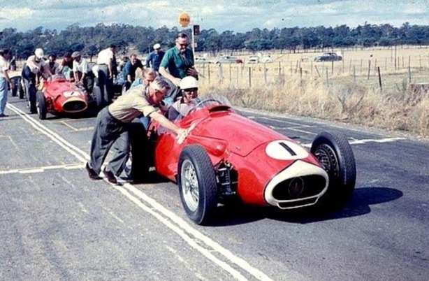 Stan Jones AGP Longford 1959