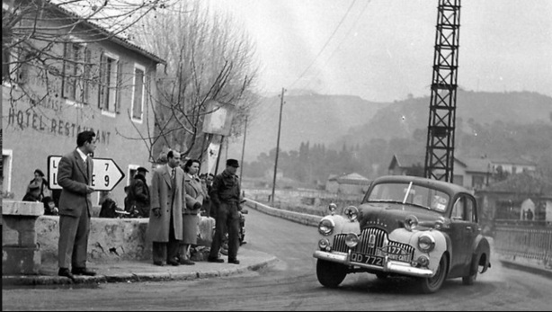 Stan Jones Monte Carlo Rally 1953