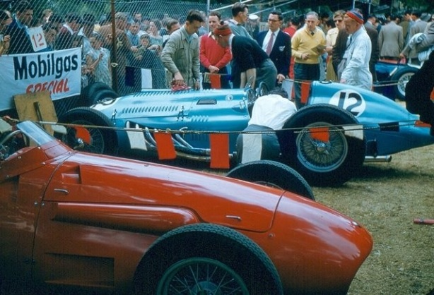 Stan Jones & Owen Baileys cars AGP 1956