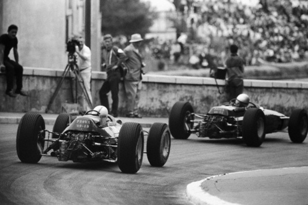 Surtees and Bandini Monaco 1965
