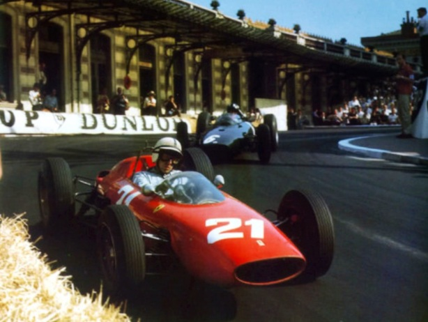 Surtees and Hill Monaco 1963