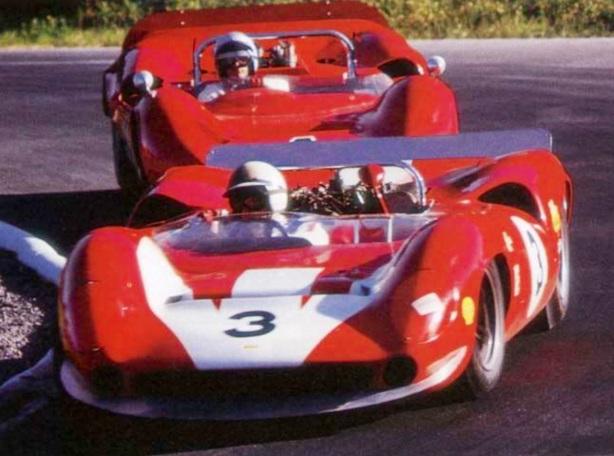 Surtees and McLaren Can Am 1966