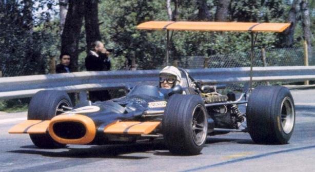 Surtees BRM 1969 Spanish GP