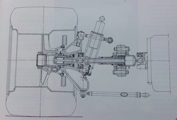 917 rear suspension drawing