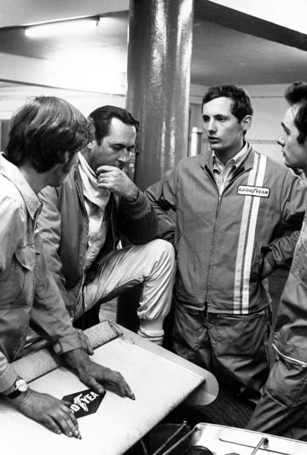 Brabham and Dennis 1970