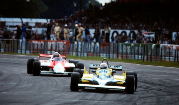 British GP Arnoux and Watson 1981