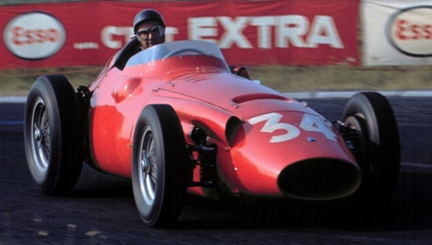 Fangio French GP 1958 Maser 250F