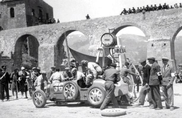 Fernando Minoia, Bugatti T35C 1929 Targa
