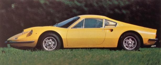 Ferrari Dino 246 profile