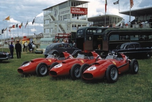 Ferrari Dinos' French GP 1958