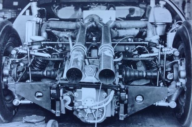 Ford Mk2 rear suspension