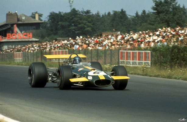 Jacky Ickx, Brabham BT26 Germany 1969