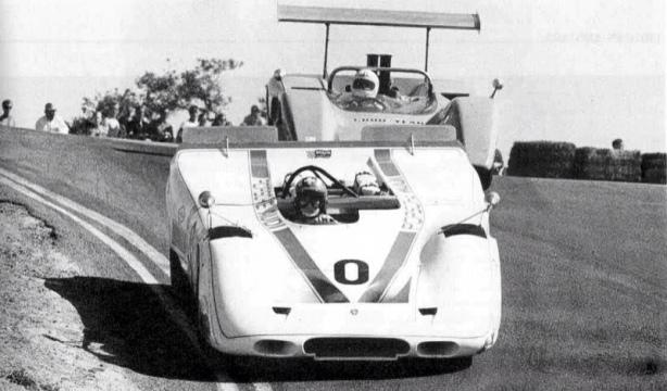 Jo Siffert Porsche 917PA Laguna Seca 1969