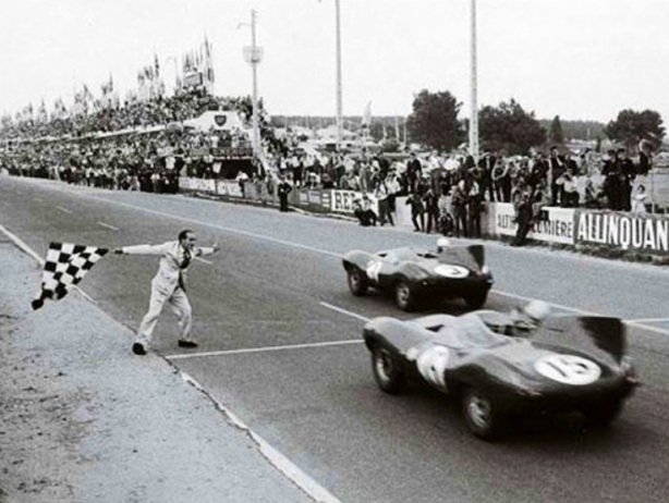 Le Mans 1957 finish
