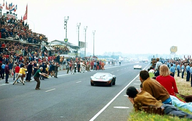 Le Mans finish 1969