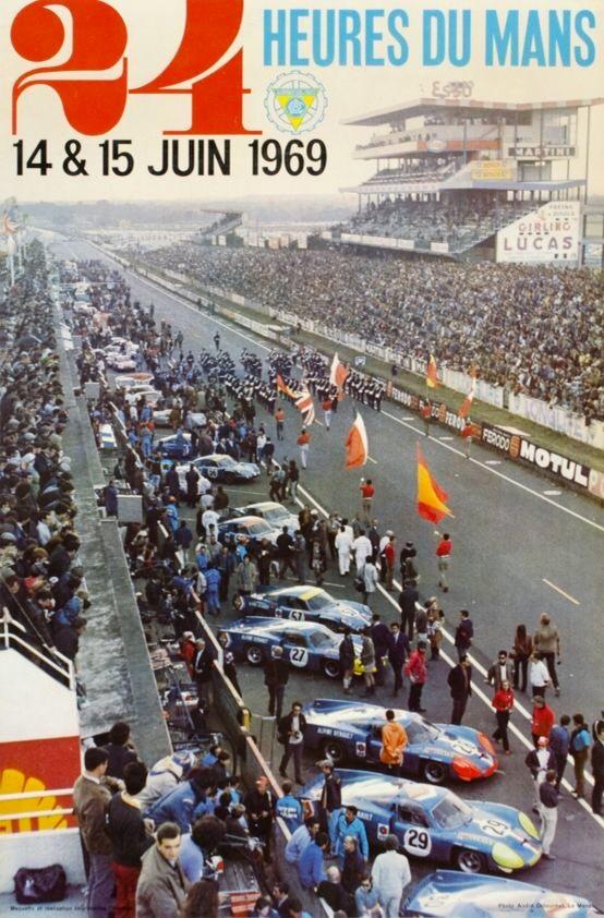 Le Mans poster 1969