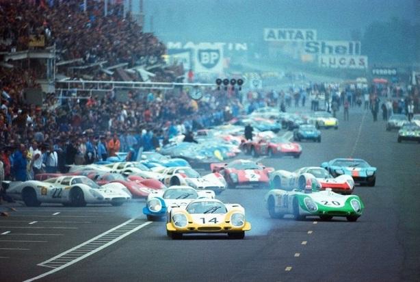 Le Mans start 1969