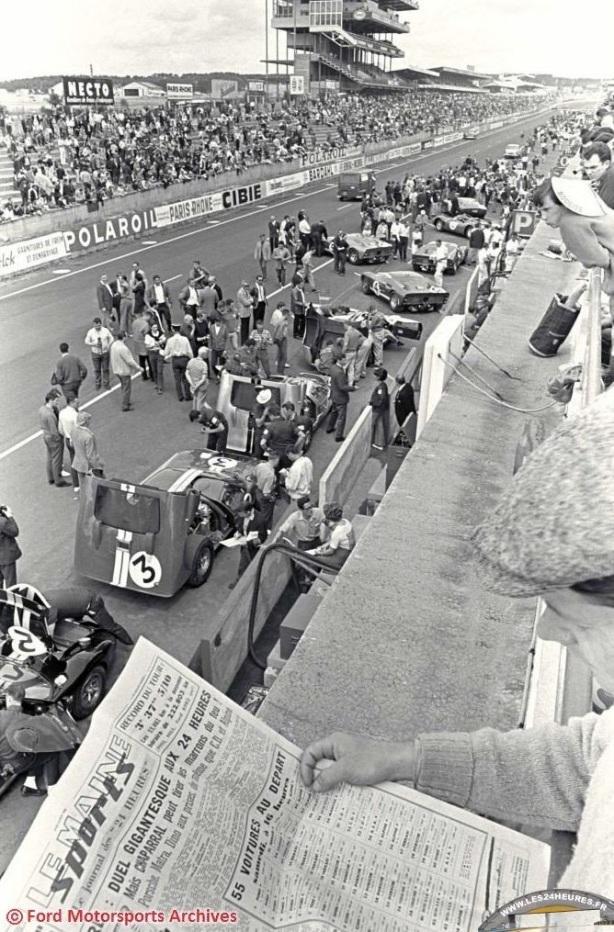 LeMans 1966 grid forming