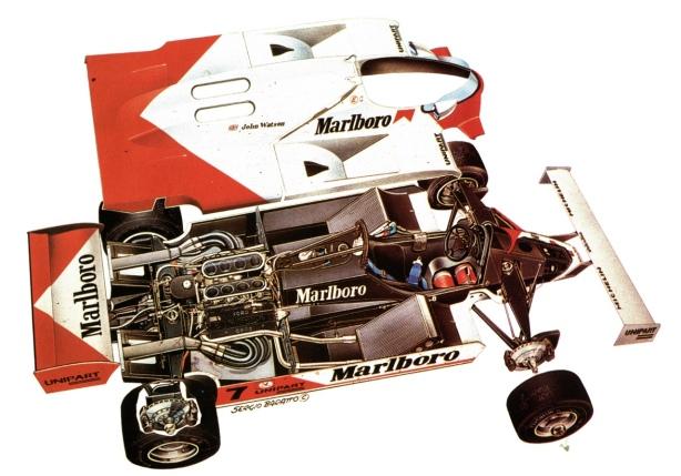 McLaren MP4 cutaway