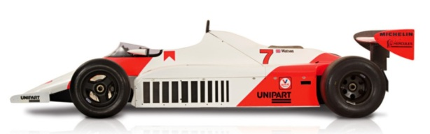 McLaren MP4 Ford profile