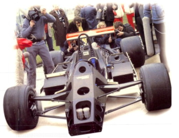 MP4 monocoque launch