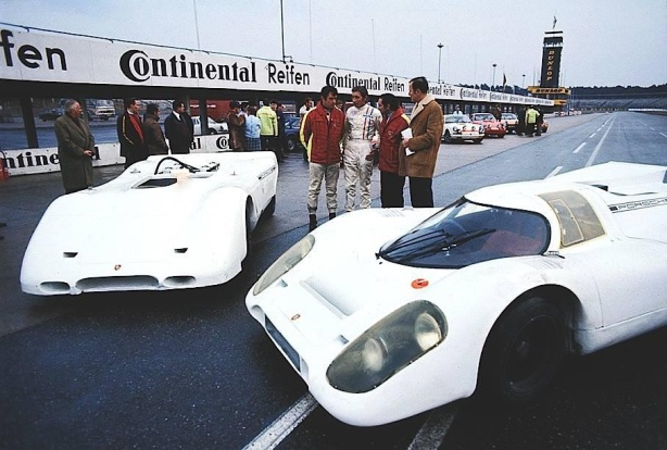 Porsche 917PA and 917K late 1969