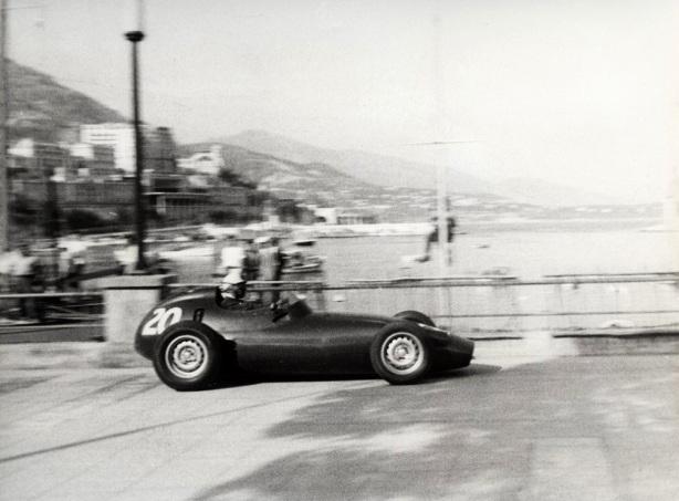 Ron Flockhart BRM P25 Monaco 1959