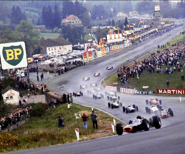 Spa 1965 Belgian GP start