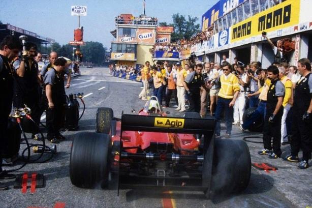 Stefan Jonannsen Monza 85