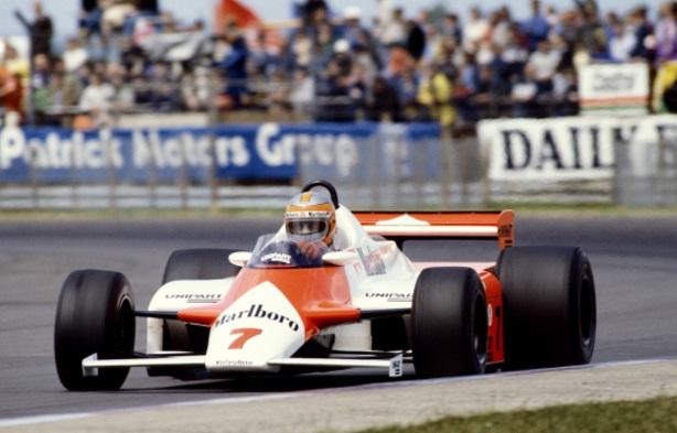 Watson McLaren MP4 Ford Silverstone 1981