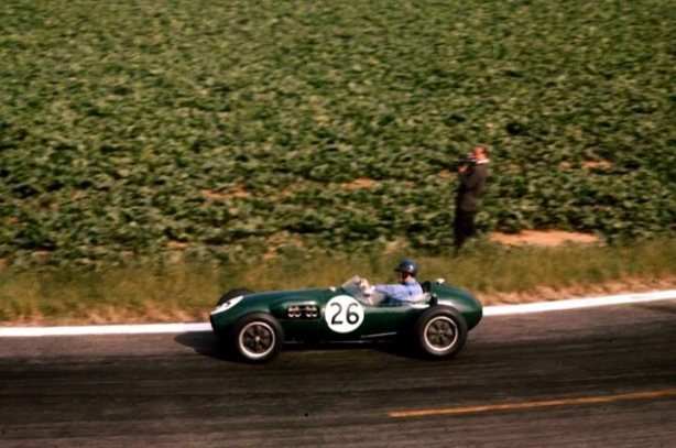 cliff allison french gp 1958 lotus 12