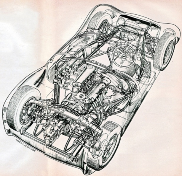 Cooper monaco cutaway