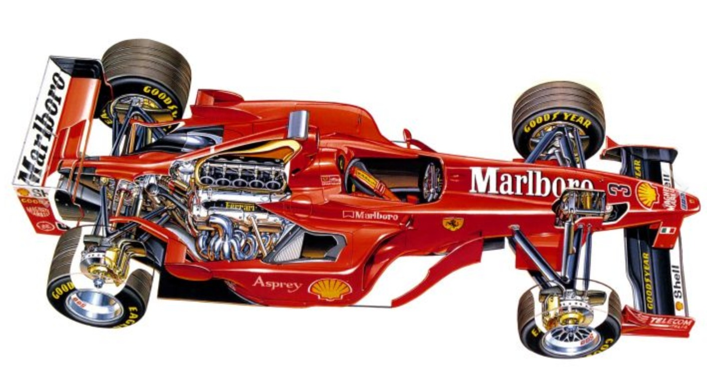 Irvines Ferrari F300 Monaco 1998 Primotipo