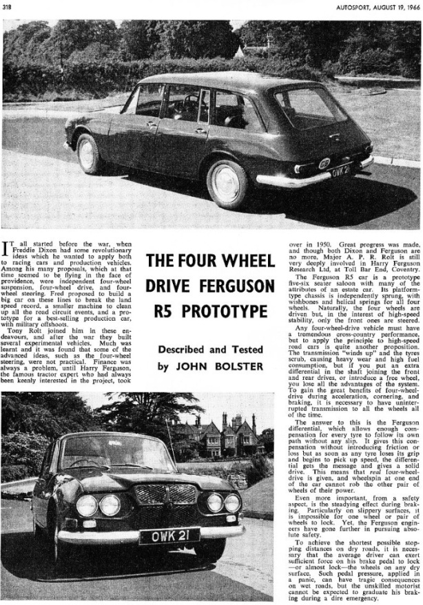 fergy road car 1