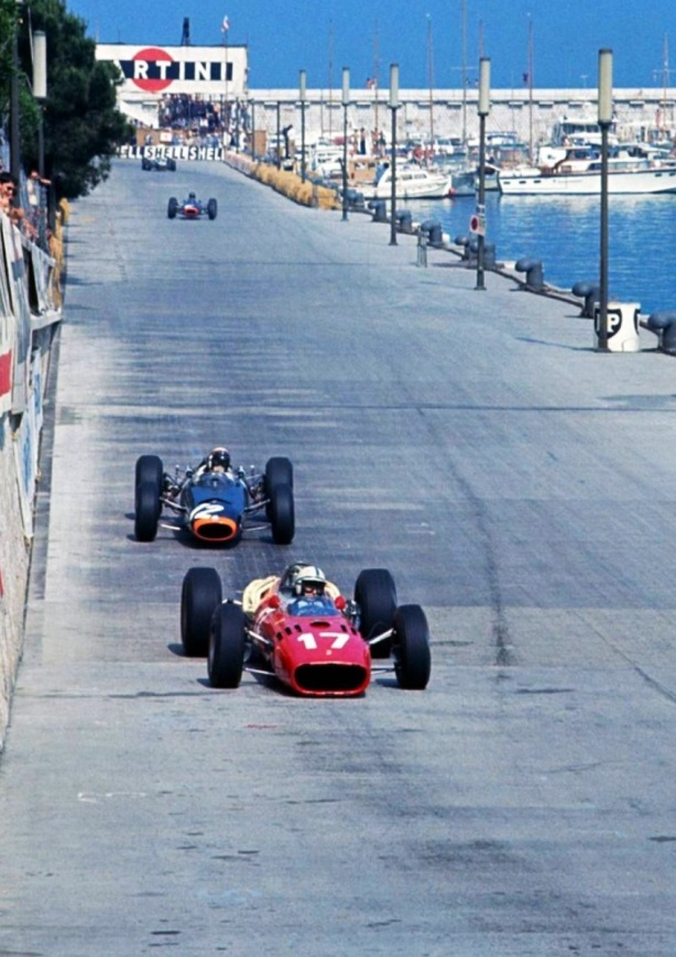 surtees and stewart monaco 1966