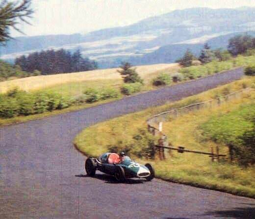 Tony Marsh German GP 1957