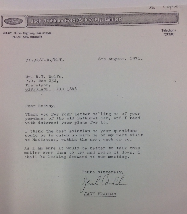 brabham letter