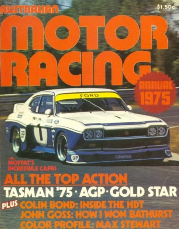 motor racing oz