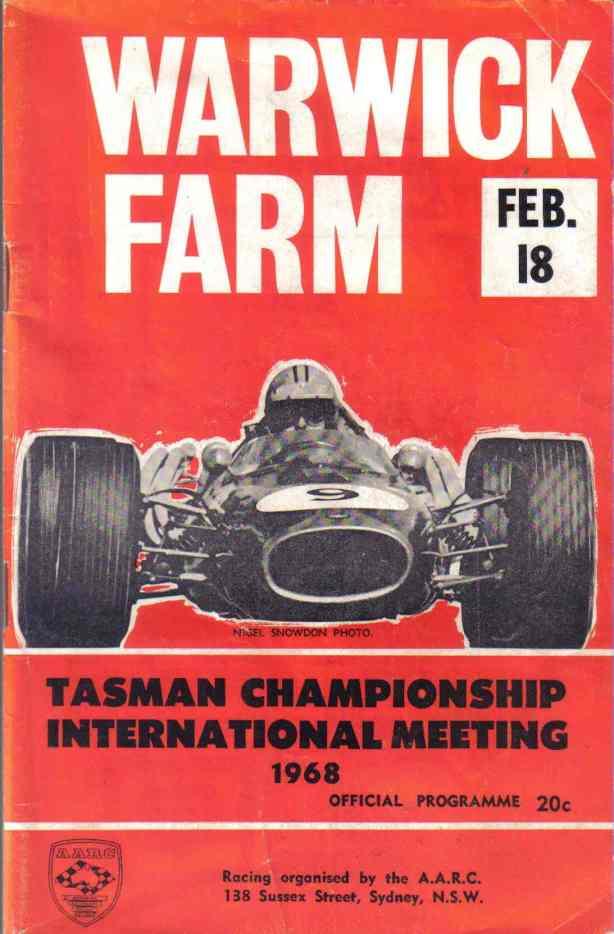 1968 WF Tasman cover