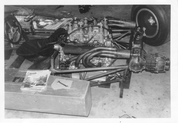 chassis and engine