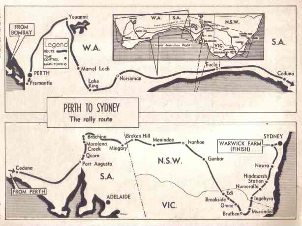 london to syd map