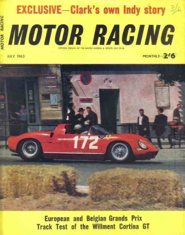 targa 'motor racing' mag