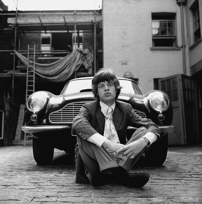 Mick Jagger Aston Martin Db6 London 1966 Primotipo